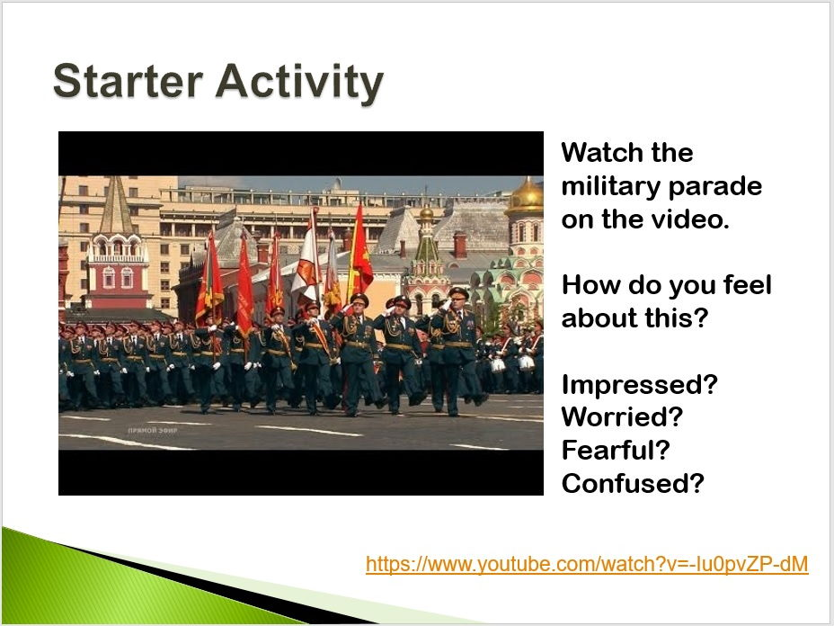 KS3 Geography - Superpowers: All About the Russian Military