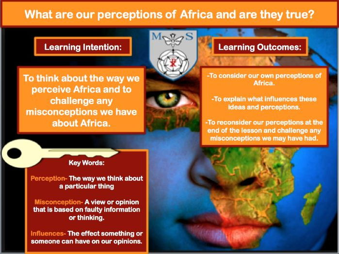 Africa: Perceptions and Misconceptions