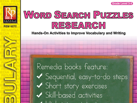 Word Search Puzzles: Research