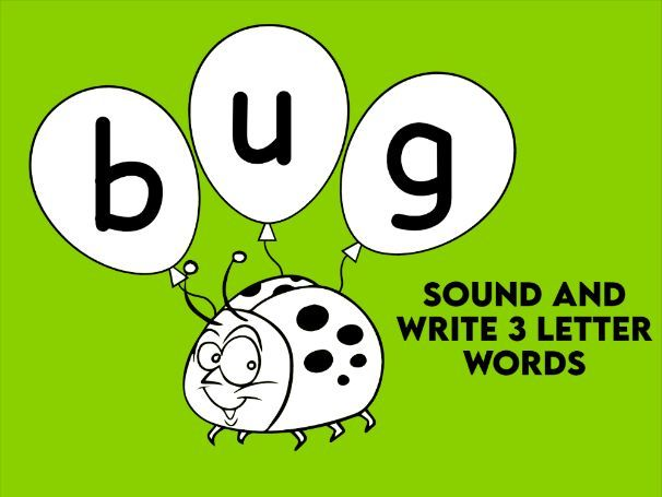 Sound and Write 3 Letter Words