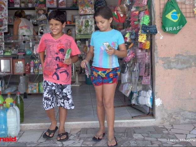 A childhood in one of Brazil's most dangerous slums