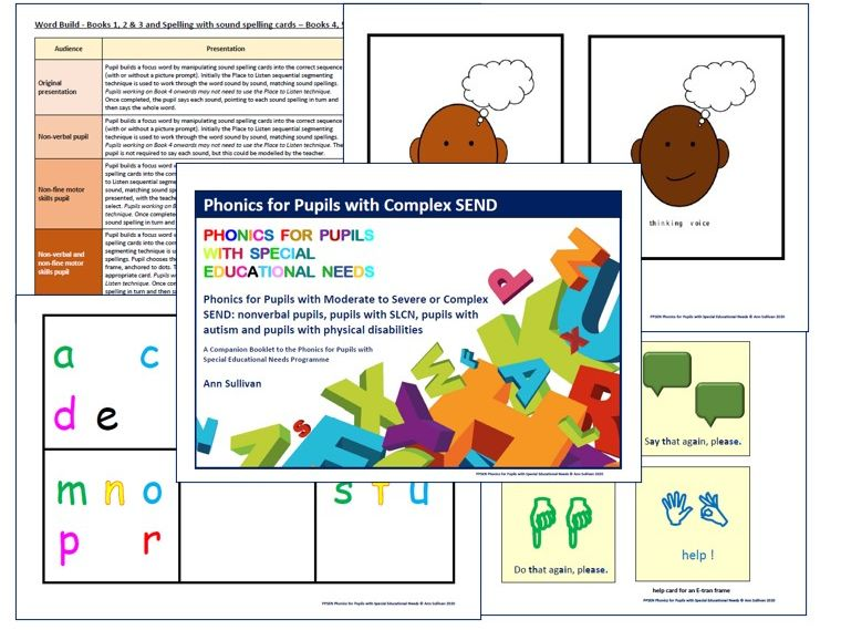 Phonics for Pupils with Complex SEND: A Companion Booklet - Enabling Access - Phonics for SEN