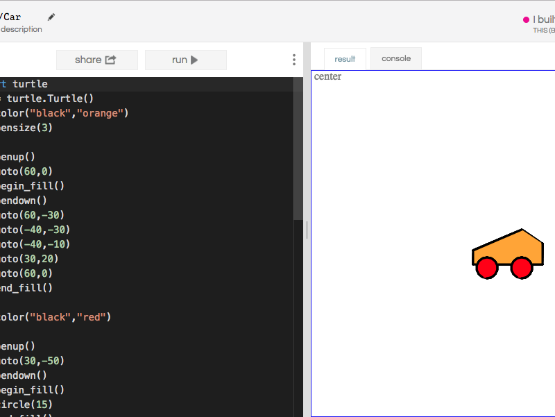 Drawing & Plotting Shapes in Scratch & Python Turtle