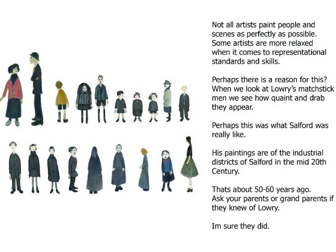 Drawing with Lowry