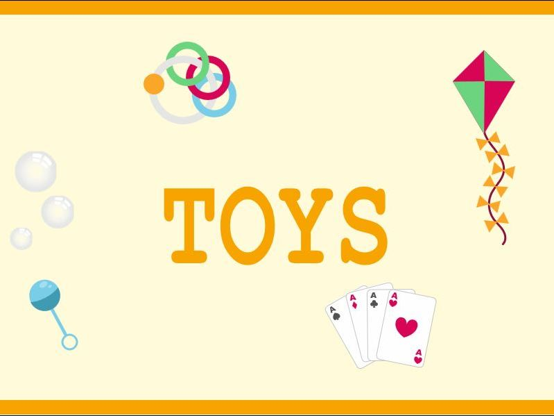 Toys Banner for Early Years Classroom Displays