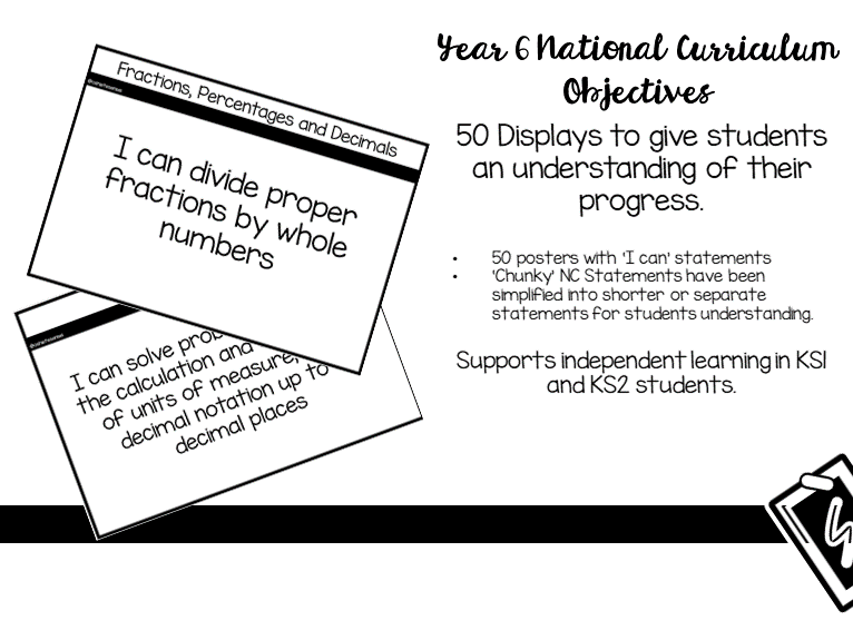 Year 6 Maths NC Objectives