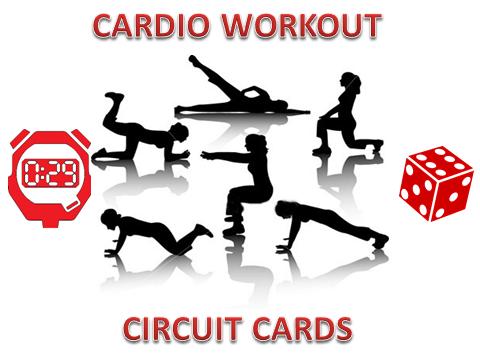 Cardio Workout Circuit Cards