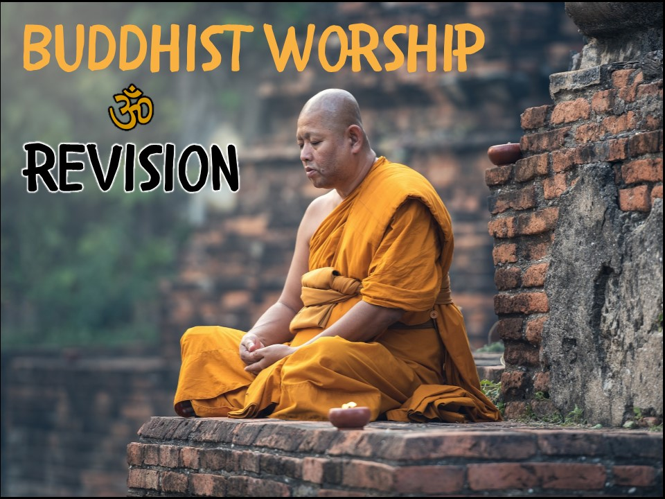 personal paper of buddhist worship Differences between christian beliefs and buddhist beliefs - research paper example.