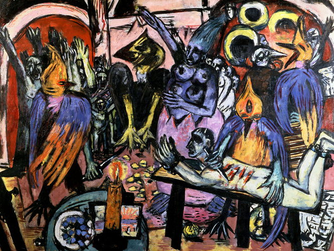 Max Beckmann quotes: on his painting art, modern myth and artistic life - for students and pupils