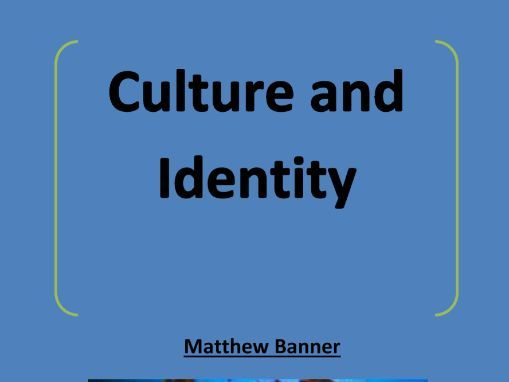 Culture and Identity Workbooklet - AS Sociology