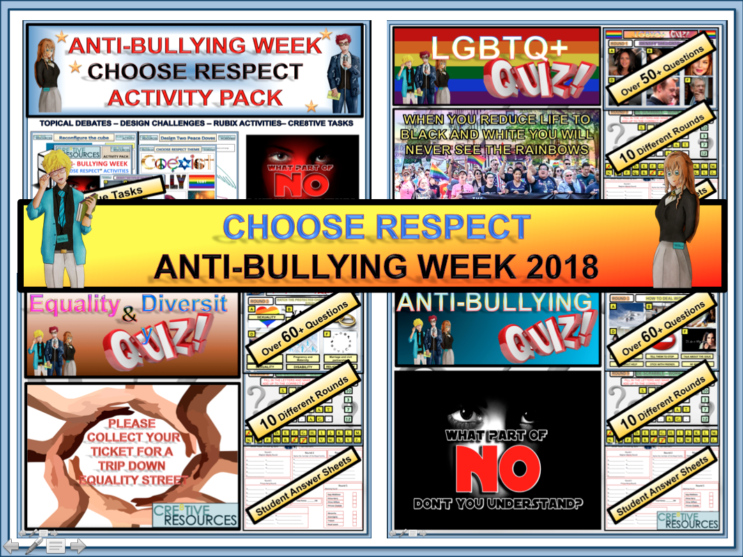 Anti Bullying Week  and Equality Bundle