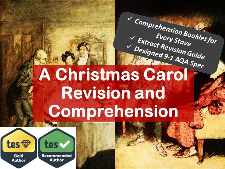 A Christmas Carol AQA GCSE Comprehension Scheme of Work and Revision Guide
