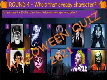 Halloween quiz 2021
