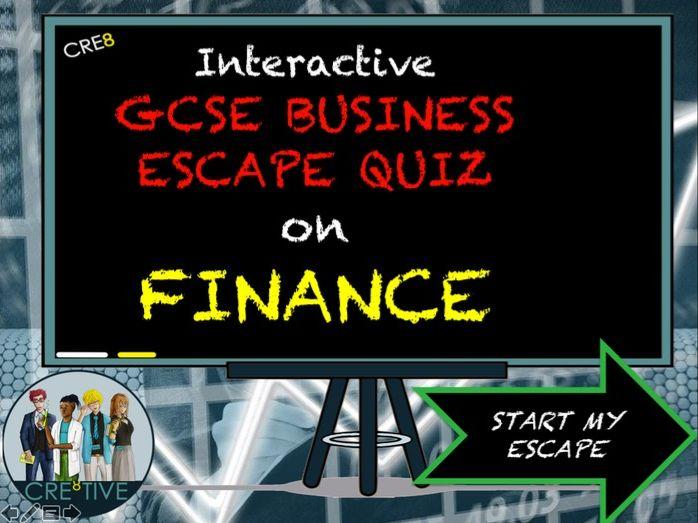 GCSE Business Revision Quiz