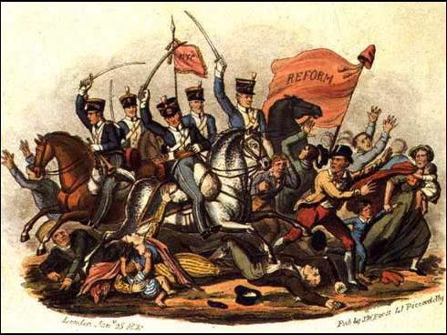 Revision Cards / Dingbats: Britain 1815 - 1830