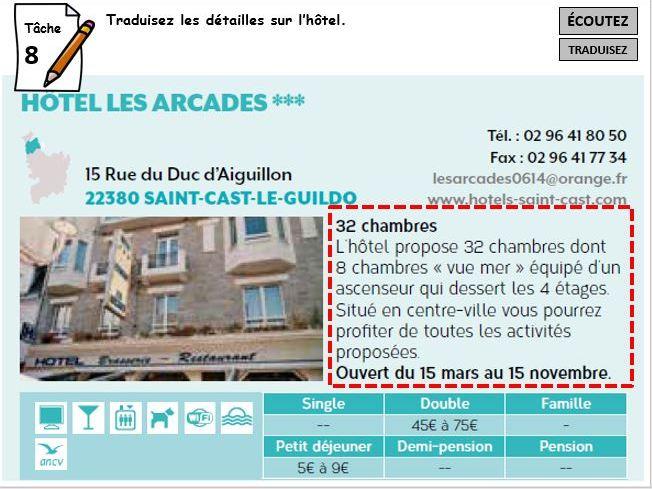 French KS4 Y10 p78+79 STUDIO Foundation - C'est pour un renseignment