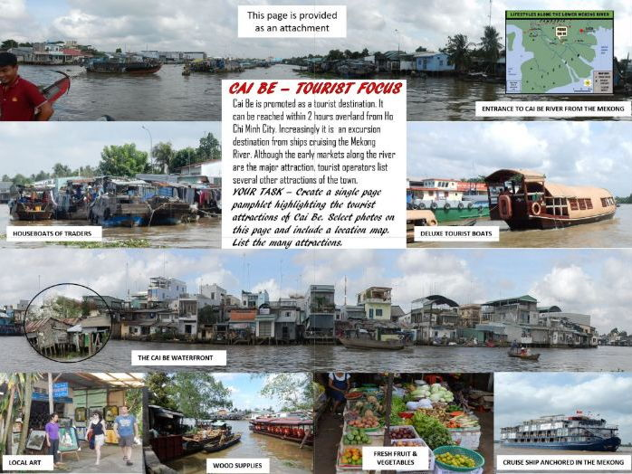 MEKONG RIVER STUDY PART 1 - LIFE ON AND AROUND THE CAI BE PORT IN VIETNAM