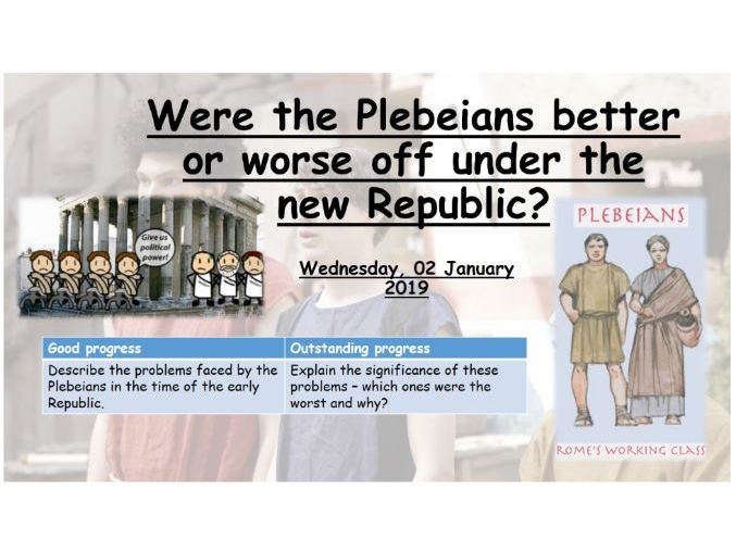 Were the Plebeians better or worse off after the expulsion of the kings in the new Republic?