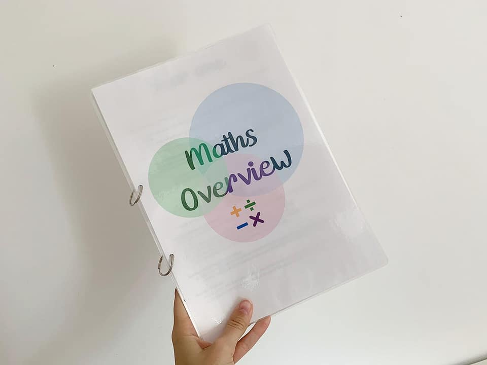 Maths overview 1-6