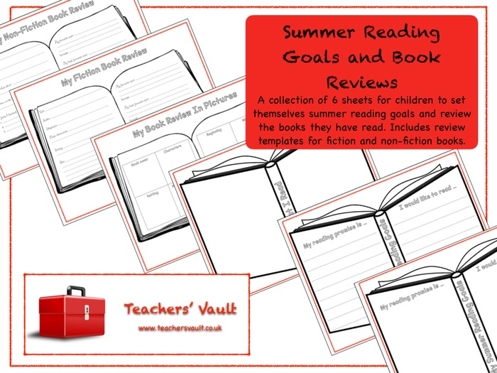 Summer Reading Goals and Book Reviews