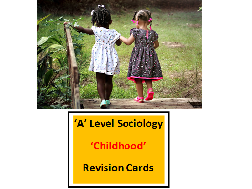 A Level Sociology 'Childhood' Revision cards