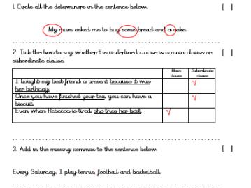 KS2 Spag Tests and Revision | Year 6 Sats | Tes