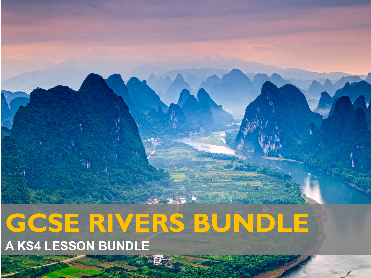 GCSE Rivers Bundle