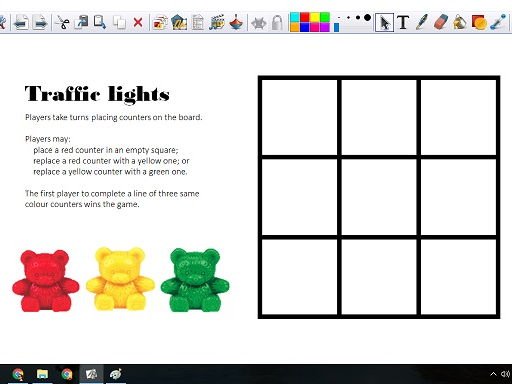 Traffic Lights Game - Printable & ActivInspire