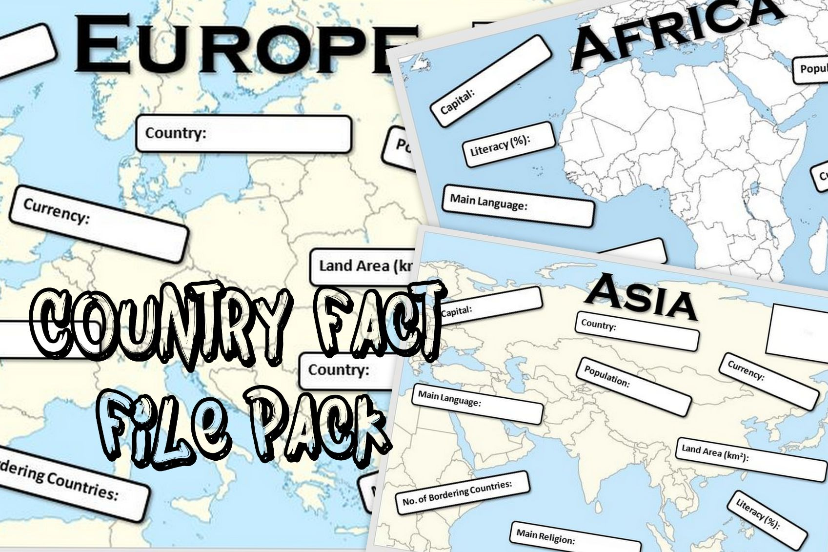 Country Fact File Pack
