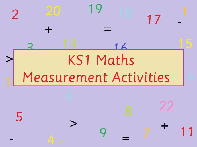 KS1 Maths Comparing Weight of Objects Measurement Non-Standard Units