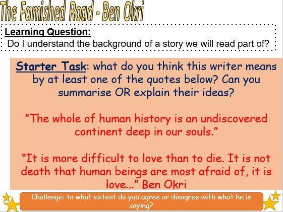 Black Literature: Ben Okri - Famished Road (Intro)