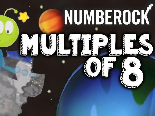 8 Times Tables: KS2 Multiplication Song