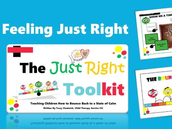 The 'Just Right' Toolkit (7 - 11yrs)