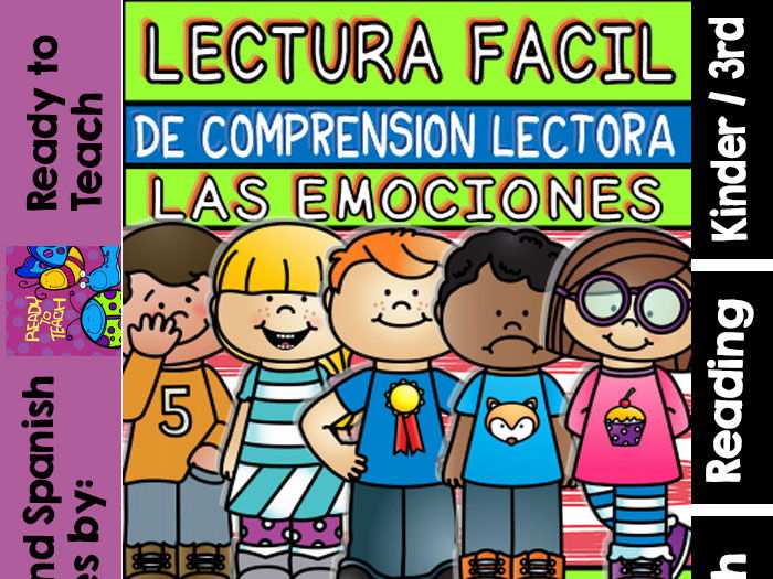Easy Reading for Reading Comprehension in Spanish - spec. edit. - Emotions