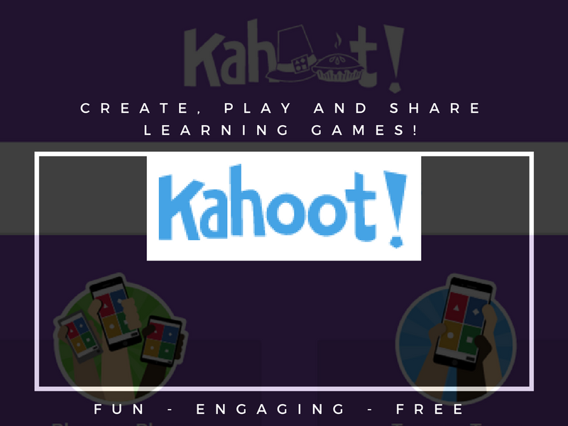 Kahoot - Instructions to set up your first learning game