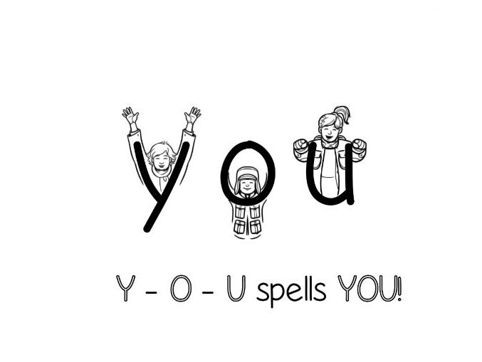 YOU - Irregular Sight Word Lesson Bundle - Picture This! Spelling