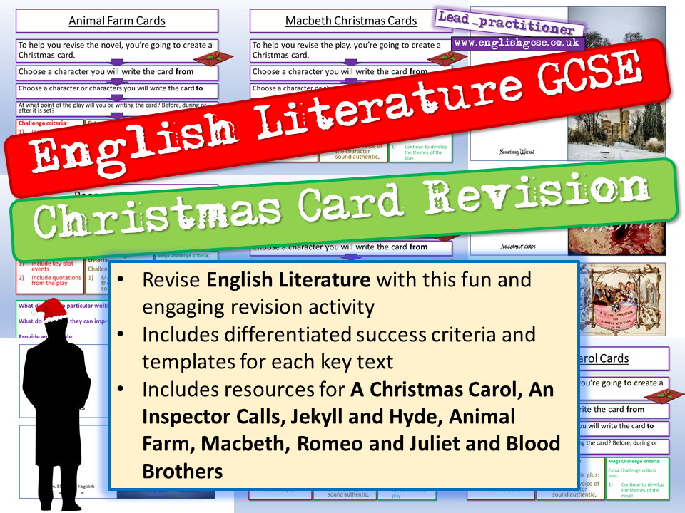 English Christmas Revision