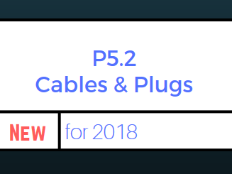 P5.2 Cables and Plugs Bundle (for 2018 Exam)