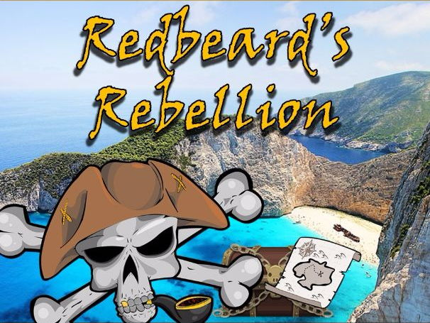 Pirate Math Quest - Redbeard's Rebellion (EASY LEVEL)