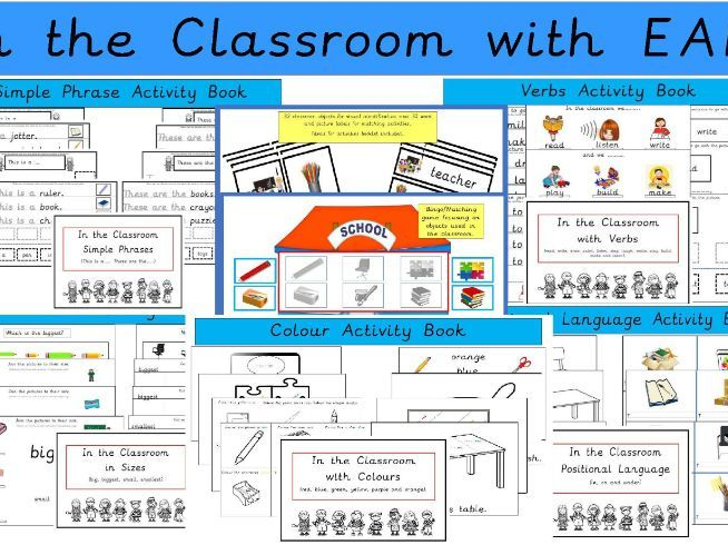 In the Classroom Resources Set (EAL)