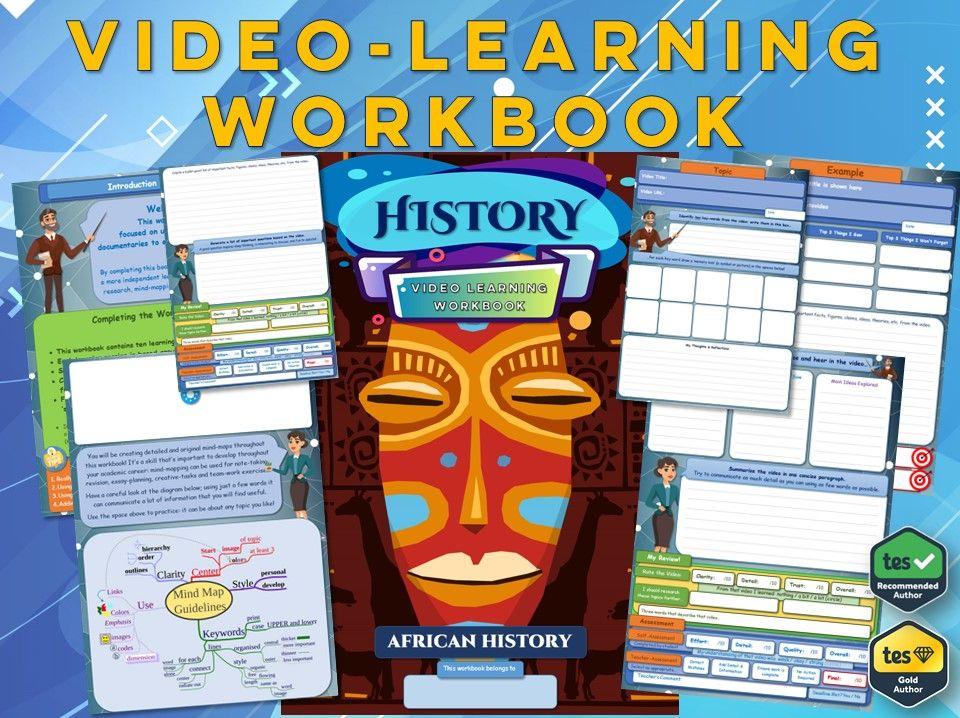 African History - KS3 History - Workbook [Video-Learning Workbook] - Africa - Civilisations