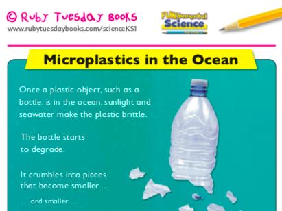 Let's Investigate Plastic Pollution: Microplastics in the Ocean