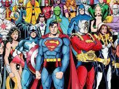 Superheroes Starter activity
