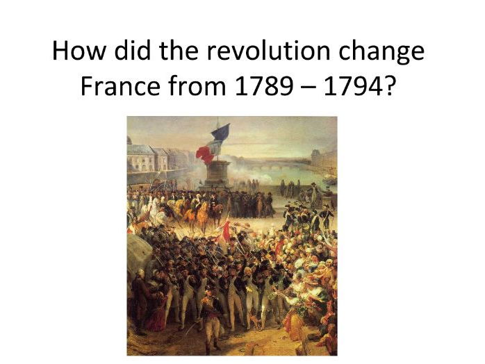 a look at the era of the french revolution and napoleon
