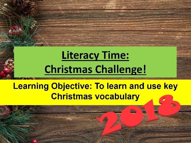 Christmas Literacy Quiz 2018