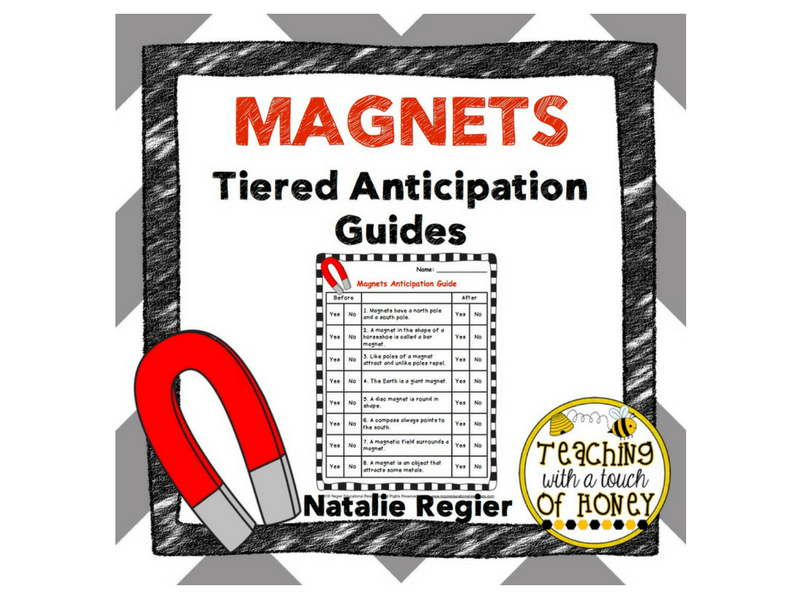 Magnets Tiered Anticipation Guides
