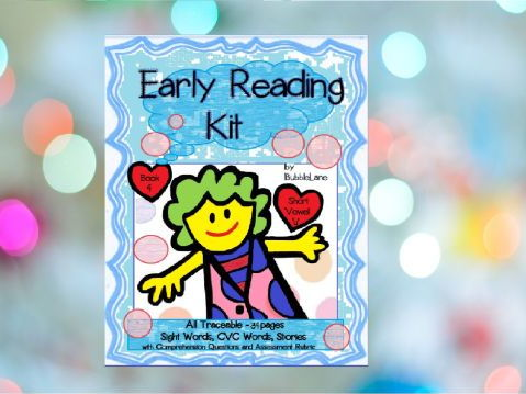 Book 4 - Sight Word Take Home Program for Emergent Readers