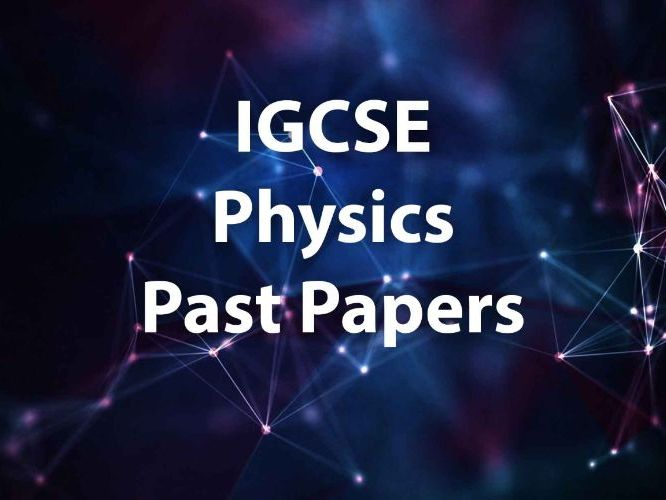 IGCSE EDEXCEL Physics Categorized Past Papers (Long Questions + MC) 2007-2018 with Mark Scheme