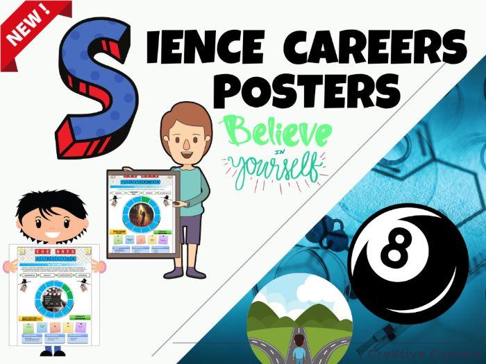 Biology Careers Posters