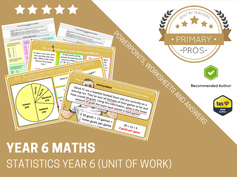 Statistics Year 6 (Unit of Work)